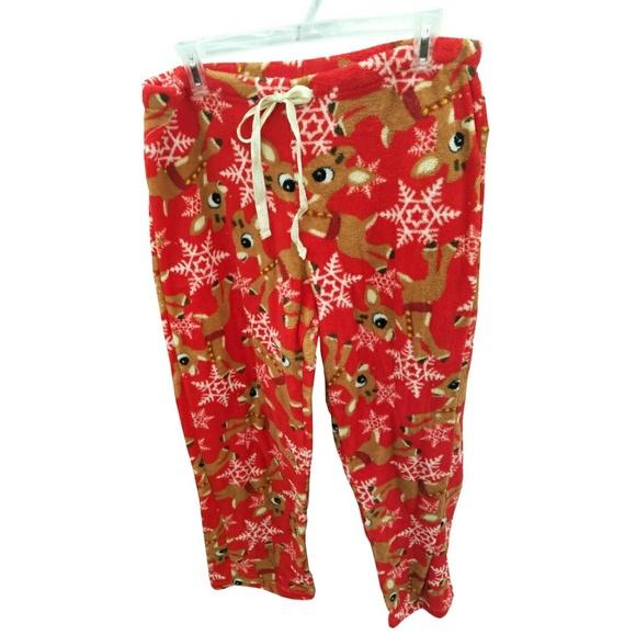 Other - Rudolph the Red Nose Reindeer Fleece Sleep Pants